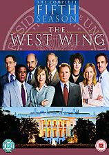 The West Wing - Series 5 - Complete (DVD, 6-Disc Box Set) . FREE UK P+P ........