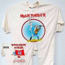 "IRON MAIDEN,""The Beast at Reading"" 82 Tour, T-Shirt,All Sizes,T-650Ivy,L@@K!"