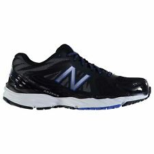 New Balance W680v4 Running Shoes Mens Black/Blue Trainers Sneakers Sports Shoes