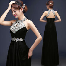 Long Chiffon Evening Formal Party Ball Gown Prom Women Bridesmaid Cocktail Dress
