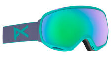 ANON Tempest Goggle - 2018 - Spherical Lens- Med Fit + Protective Goggle Sleeve