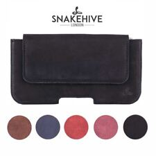 Snakehive® Apple iPhone 4/4S Vintage Leather Belt Pouch Loop Utility Phone Case