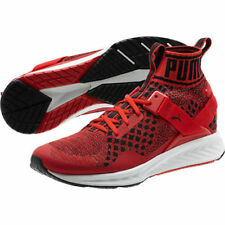 Mens Puma Ignite EVOknit RARE Red & White Colorway Running Basketball Shoes NWOB