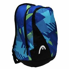 HEAD Fusion Graphic Backpack Blue Rucksack Sports Bag Gymbag Kitbag