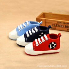 HOT Infant Toddler Baby Boy Girl Soft Sole Crib Shoes Sneaker Newborn To 12 Mont