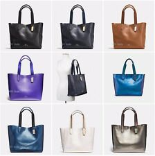 New Coach F59818 F59392 F59388 Large Derby Tote In Pebble Leather NWT