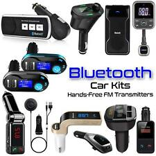 Wireless Bluetooth Car Kit FM Transmitter For MP3 Music Radio Player & USB Port