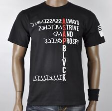 Black Scale BLVCK ASAP Rocky Hip Hip Logo T-Shirt 50% Off