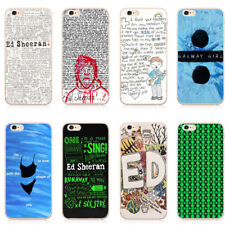 Music Creators Ed Sheeran Design Hard Case for iPhone 5 5S SE 6 6S Plus 7 7 Plus
