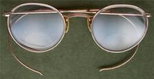 Vintage Shuron Gold Fill Etched Banned Eye Glass Spectacles Frames