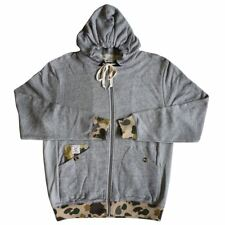 Crooks & Castles Heavy Steel Knit Zip Hoodie Speckle Grey