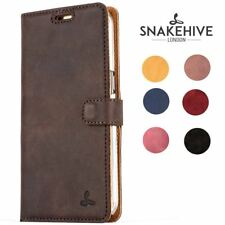 Snakehive® Samsung Galaxy S7 Edge Vintage Leather Wallet Phone Case w/Card Slots