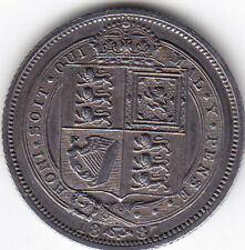 1887 UK – Great Britain – 6 Pence Coin