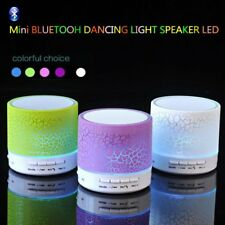 Wireless Bluetooth Speaker Portable LED Music Sound Player For Car Phone iphone