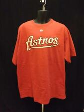 New MLB Houston Astros Mens Sizes XL/2XL Red Majestic Shirt MSRP $23