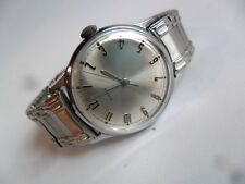 Clean Vintage 1970 Men's Timex Mechanical Watch w/ S/S Stretch Band