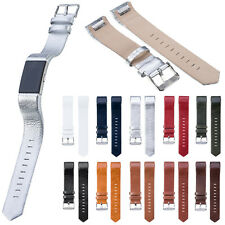 Stylish Genuine Leather Watchband Strap Bracelet For Fitbit Charge 2 Wrist Band