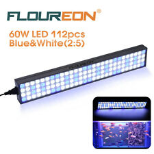 112Pcs LED Aquarium Light Lamp Dimmable for Fish Reef Coral Marine Tank LPS SPS