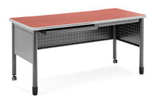 OFM Office School Hospital Mesa Series Mobile Training Table / Desk with Drawers