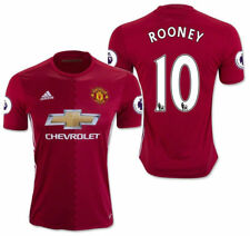 ADIDAS WAYNE ROONEY MANCHESTER UNITED HOME JERSEY 2016/17.