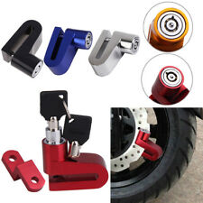 Alloy Motorcycle Cycling Bicycle Security Rotor Disc Brake Wheel Safe Lock