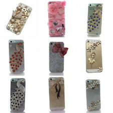 Luxury Handmade Diamonds Crystal Rhinestones Case Cover For iPhone 5/5S/SE/5G