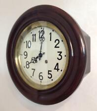 """Perfect 15"""" French Vedette Industrial/Station/School Factory Striking Wall Clock"""