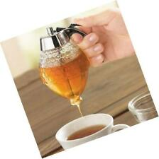 8 oz honey dispenser drip syrup with stand