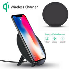 Concision Portable Qi Safe Wireless Charger Charging Stand For Iphone 8/8 Plus/X