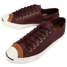 Converse Jack Purcell Jack OX Bord Red White Mens Classic Casual Shoes 150295C
