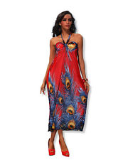 Summer Wear Long Prom Maxi Cocktail Dress UK size 10-12 Colours Available