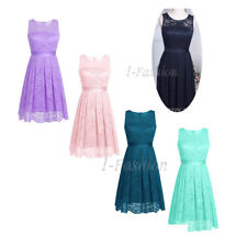 Women Short Formal PROM Dress Cocktail Party Ball Gown Evening Bridesmaid Dress!