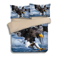 Eagle Duvet/Quilt/Comforter Cover Pillow Cases Queen/King Size Bedding Set New