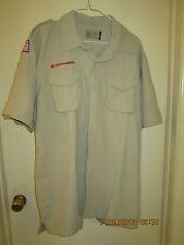 BSA/Cub, Boy & Leader Scout Newest Vented Back Uniform Sht.Slv. Shirt-Adult -15