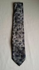 Looney Tunes Tie 100% Polyester Sylvester Bugs Bunny Length 141-147/10cm