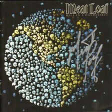 Meat Loaf Autographed Hell In A Handbasket Signed CD Cover COA AFTAL