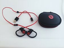 Powerbeats3 Wireless In Ear Headphones-Authentic Beats by Dr Dre -Black/Red