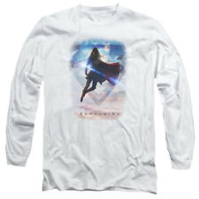 Supergirl TV Show ENDLESS SKY Licensed Adult Long Sleeve T-Shirt S-3XL