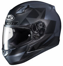 HJC Adult Black/Grey CL-17 Ragua Motorcycle Full Face Helmet Snell DOT