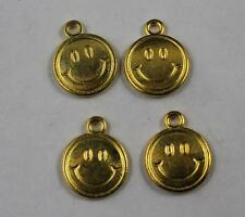 40/100pcs Retro style lovely Smiling face alloy charm pendants 16x13mm