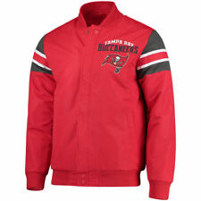 G-III Extreme Tampa Bay Buccaneers Red Alpha Full-Snap Jacket - NFL