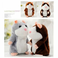 2017 Adorable Toy Mimicry Pet Speak Talking Record Hamster Mouse Plush Kids Toy