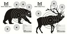 50pcs of 2 Animal Combo Paper Practice Targets archery Targets