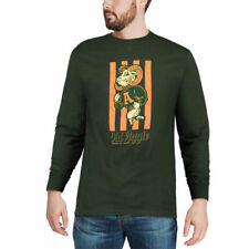 Colorado State Rams Green Old Aggie Long Sleeve Shirt - College