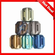 New Titanium Alloy Knife Lanyard Knife Beads Paracord Can Fits 6pcs Tritium Tube