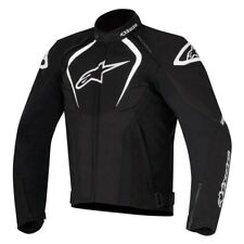 Alpinestars T-Jaws Black Waterproof Mens Motorcycle Textile Jacket Coat