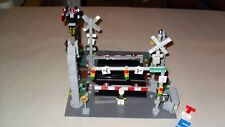 Choice LEGO Custom Train RR Railroad Signs Signals Crossings Track Lights