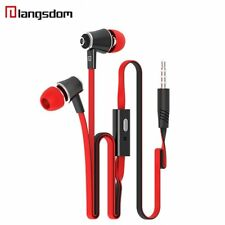 Langston Stereo Headphone In-Ear Earphone Earbuds Super Bass Earplug With MIC