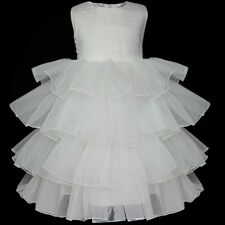 Flower Girl Dress Princess Party Birthday Wedding Pageant Formal Dresses Clothes