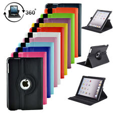 360 Rotating PU Leather Shockproof Smart Case Stand Cover For iPad Mini 1 2 3